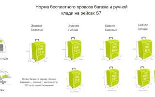 S7 багаж: Что можно провозить в багаже в самолете 2020 по России и на международных рейсах